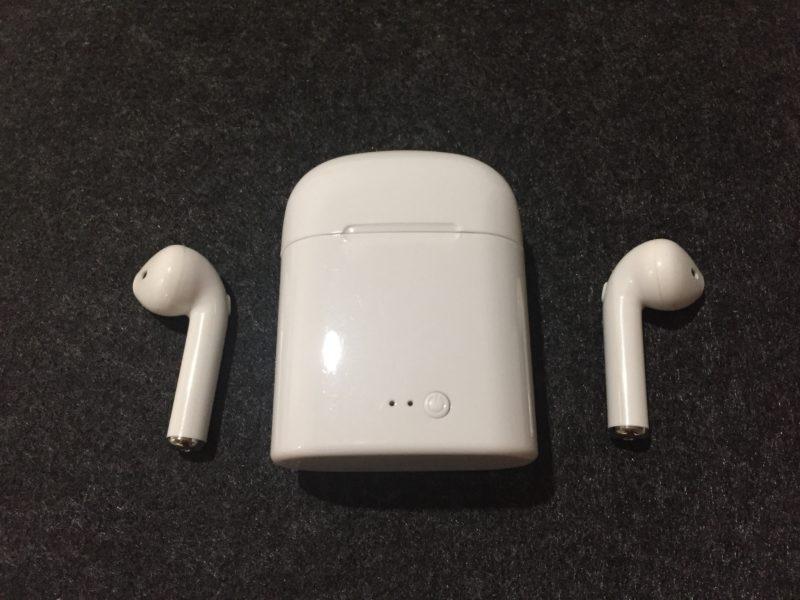 ワイヤレスイヤホンTws-i7【Lezon/Bluetooth4.2】はこんな感じです